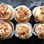 Sweet and Nutty Pumpkin Cupcakes