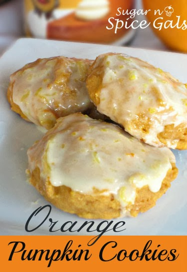 Orange Pupmkin Cookies