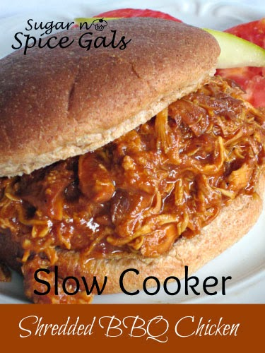 Barbecue Shredded Chicken From The Oven Or Slow Cooker Recipes ...