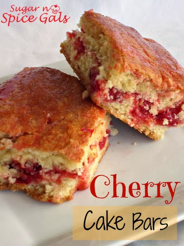 Cherry Cake Bars