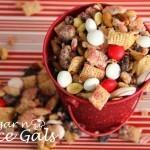 Crunchy Peppermint Chex Mix