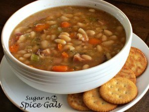 Bean and Ham Soup Recipe