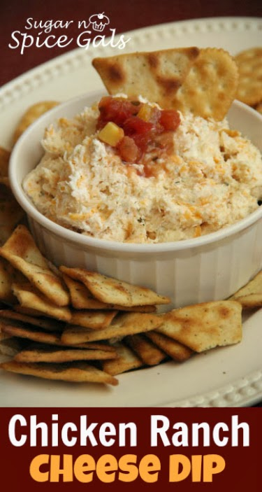 Chicken Ranch Cheese Dip