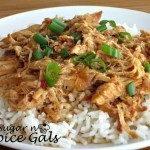 Slow Cooker Shredded Honey Sesame Chicken