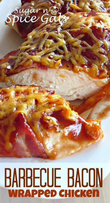 Barbecue Bacon Wrapped Chicken