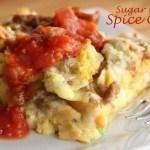 Sausage Breakfast Strata