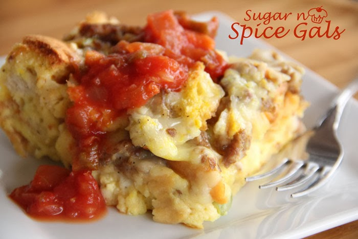 Sausage Breakfast Strata Recipe