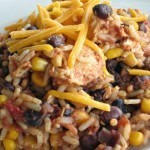 Slow Cooker Fiesta Chicken and Rice