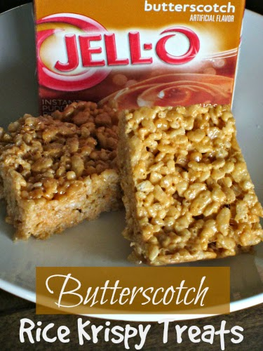 Butterscotch Rice Krispie Treats