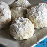 Buttery Pecan Cookie Balls