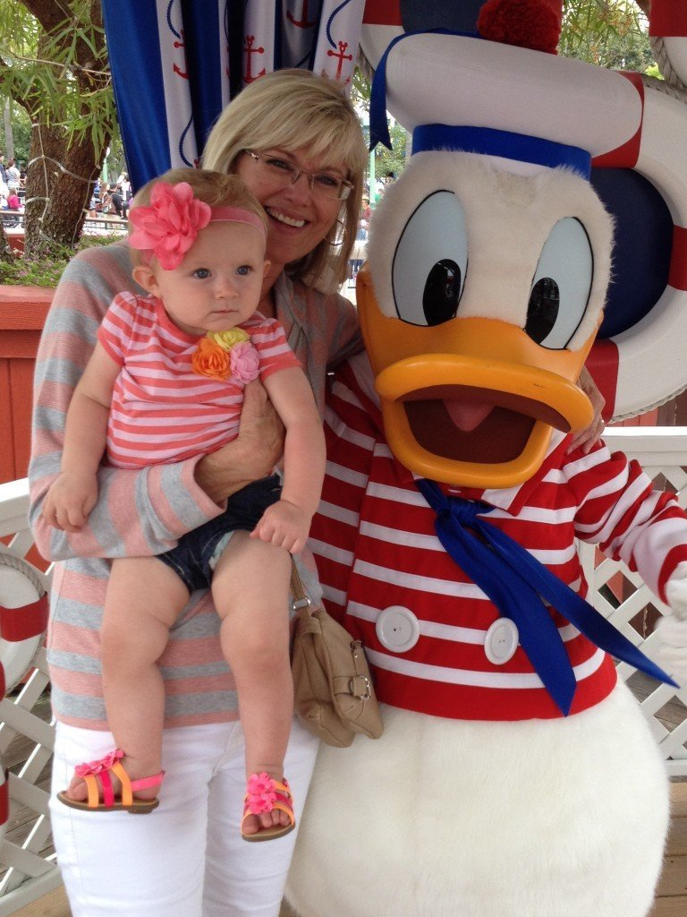 Robin Kinsley Donald Disneyland