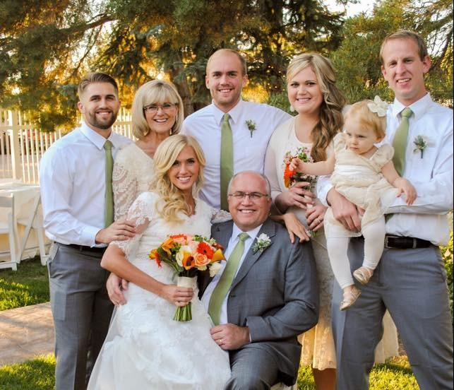 Robin - becky's wedding (whole fam)