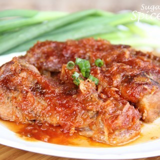 Tangy-pork-ribs