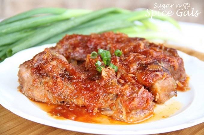 Tangy BBQ Pork Ribs