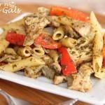 Easy Pesto Chicken Pasta