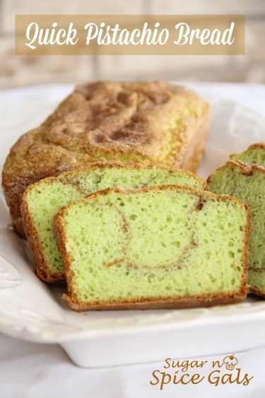 quick pistachio bread