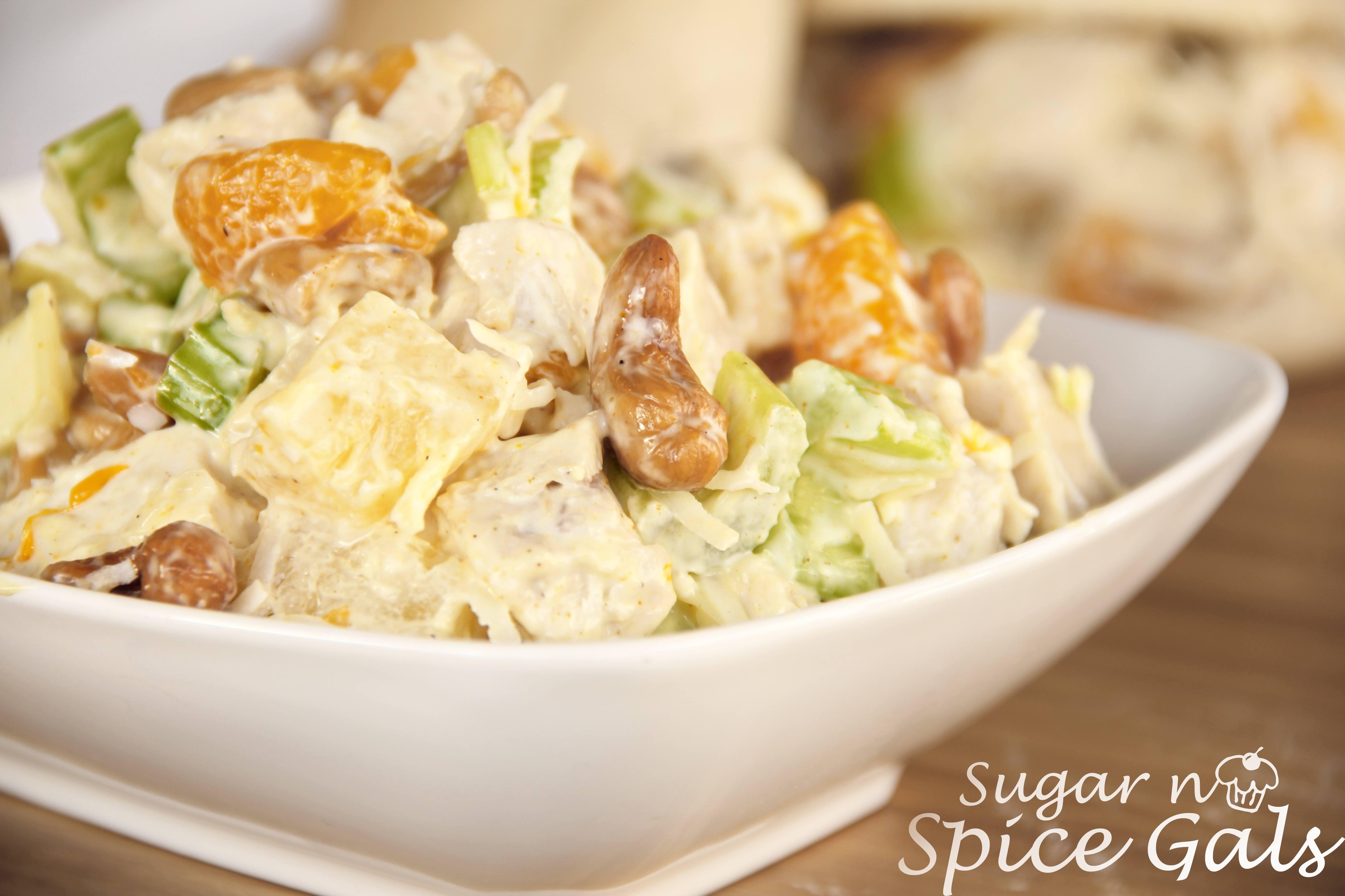 Tropical Chicken Salad Sugar N Spice Gals