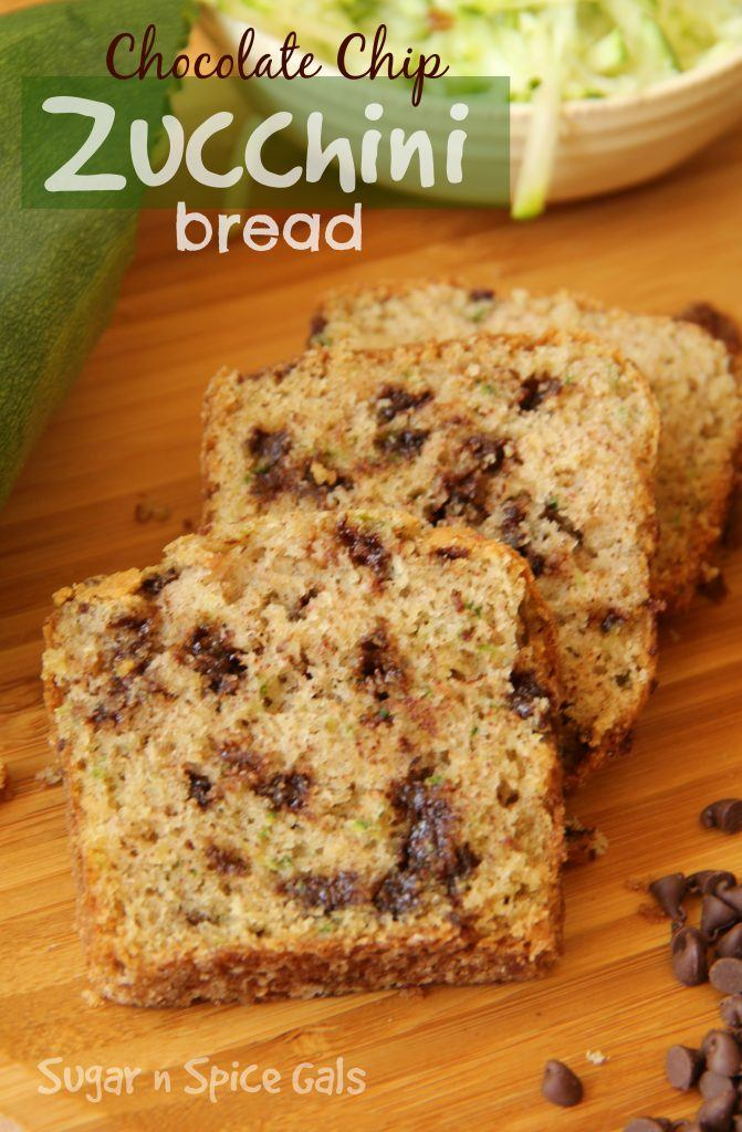 Chocolate chip zucchini bread 1 edit