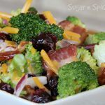 Broccoli and Bacon Summer Salad