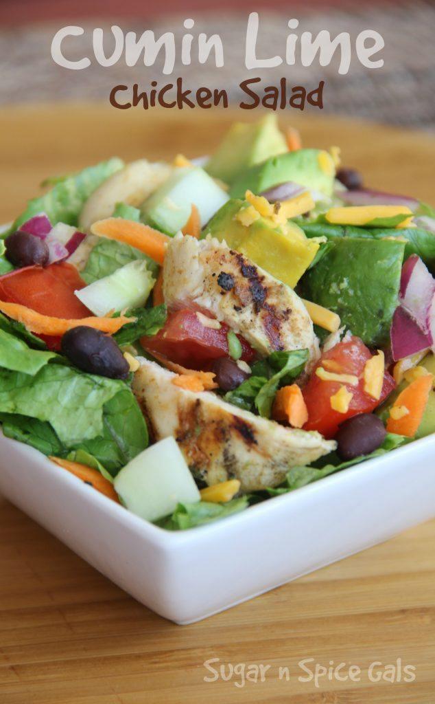Cumin Lime Chicken Salad 2