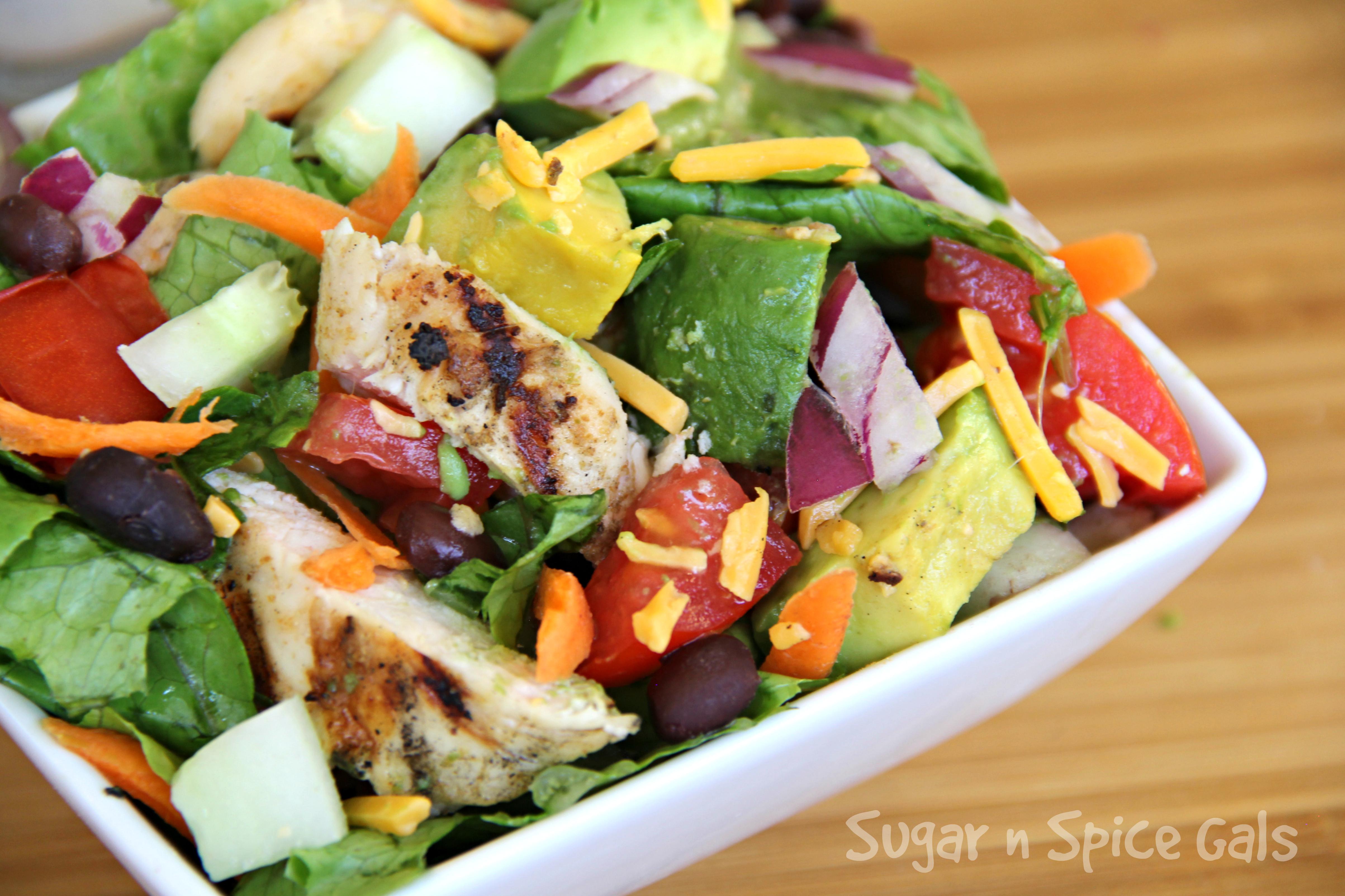 Cumin Lime Chicken Salad 3