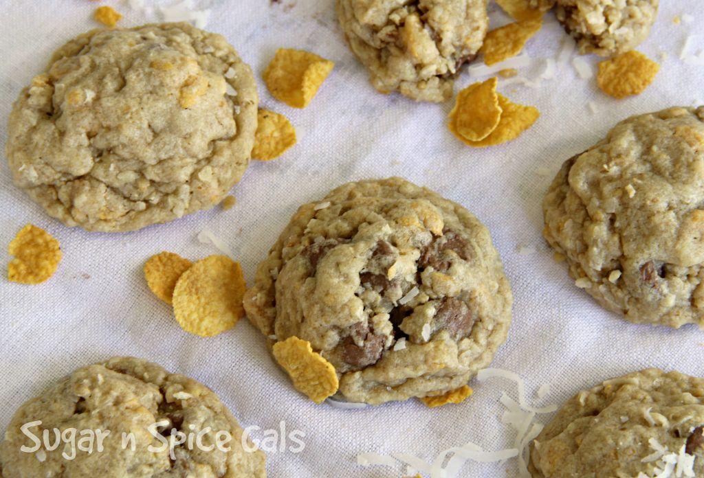 coconut crunch cookies 4
