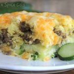 Sausage and Cheese Bisquick Zucchini Bake