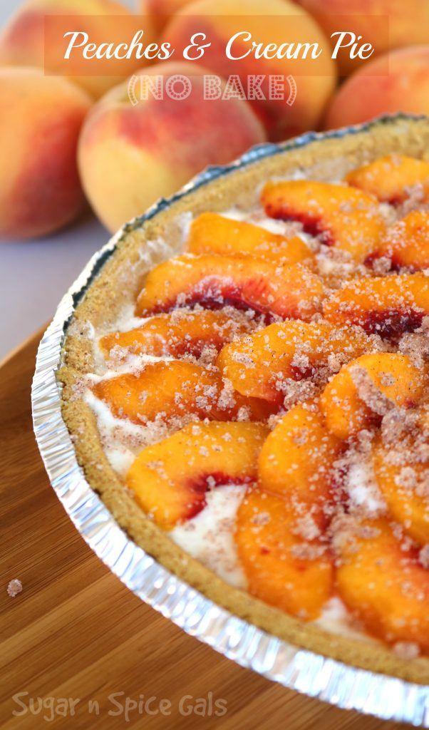 peaches-and-cream-pie recipe