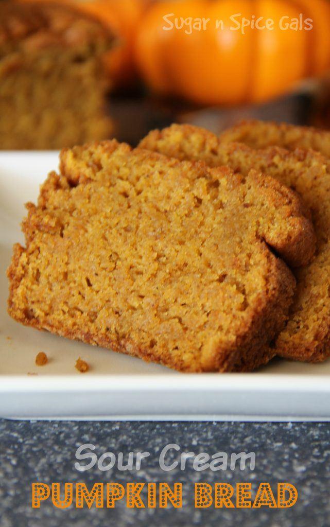 sour cream pumpkin bread recipe