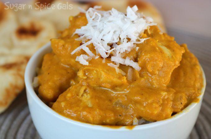 Pumpkin Coconut Chicken Curry