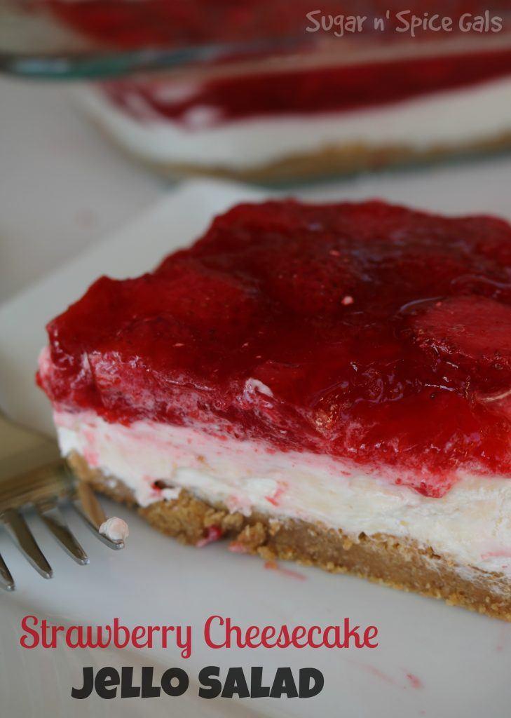 Strawberry Cheesecake Jello Salad Recipe