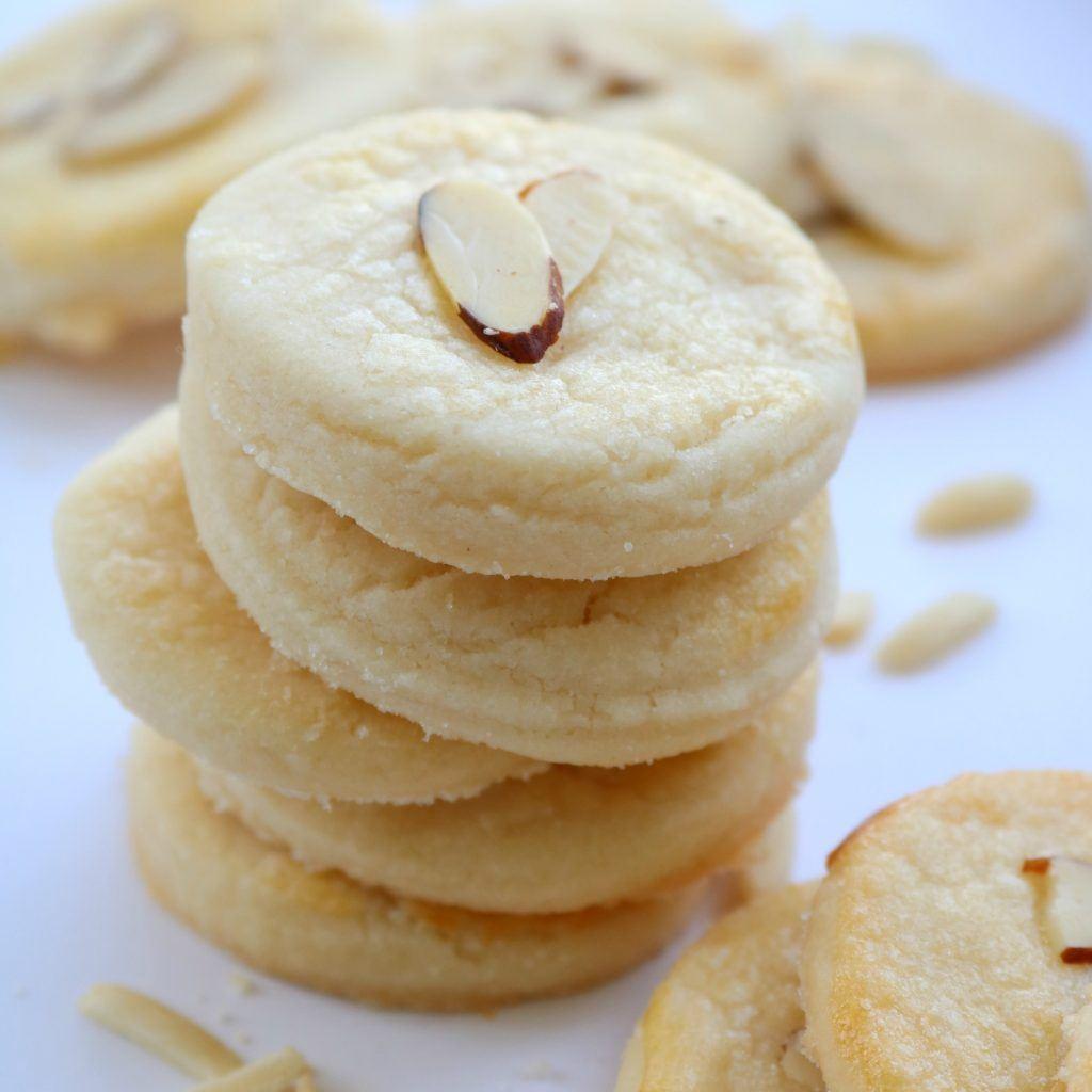 Danish Almond Shortbread Cookies