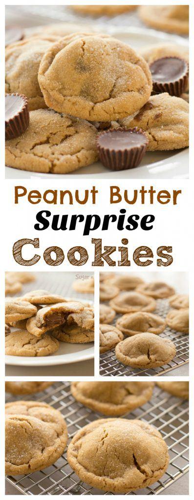 peanut butter surprise cookies pinterest