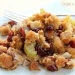 Slow Cooker Pork w/ Apple Berry Stuffing