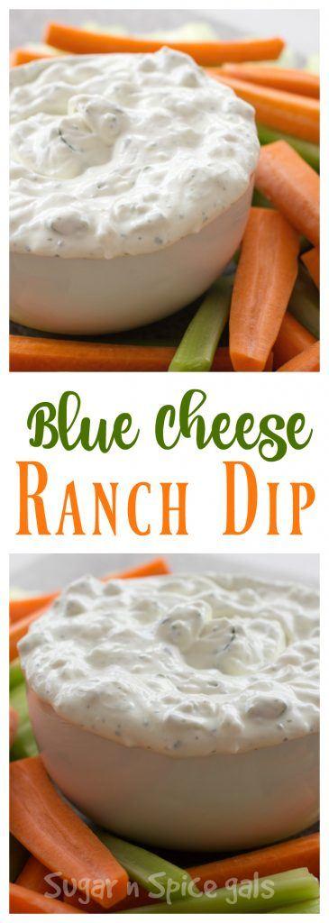bleu cheese ranch dip