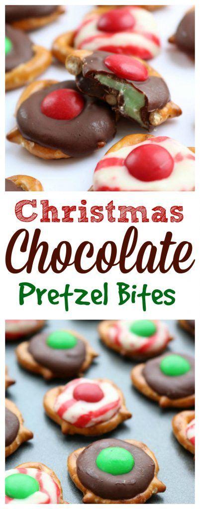 christmas-chocolate-pretzel-bites