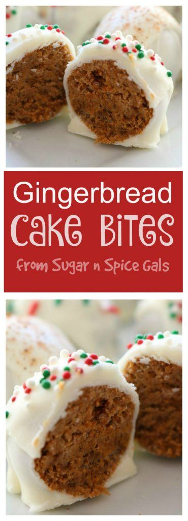 gingerbread-cake-bites-collage
