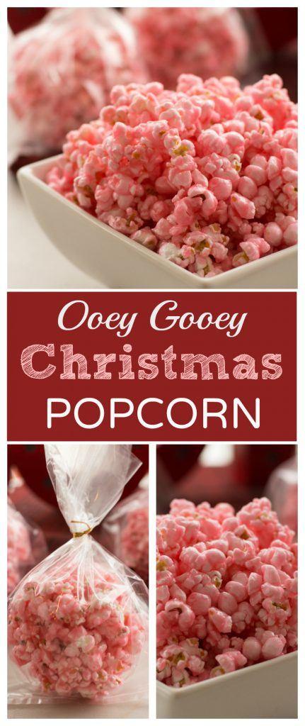 Christmas Popcorn Recipes