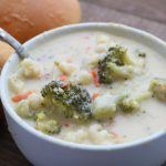 Creamy Pepper Jack Broccoli Soup
