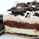 Mint Oreo Layered Dessert