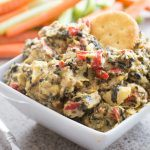 Sausage & Spinach Artichoke Dip (Slow Cooker version)