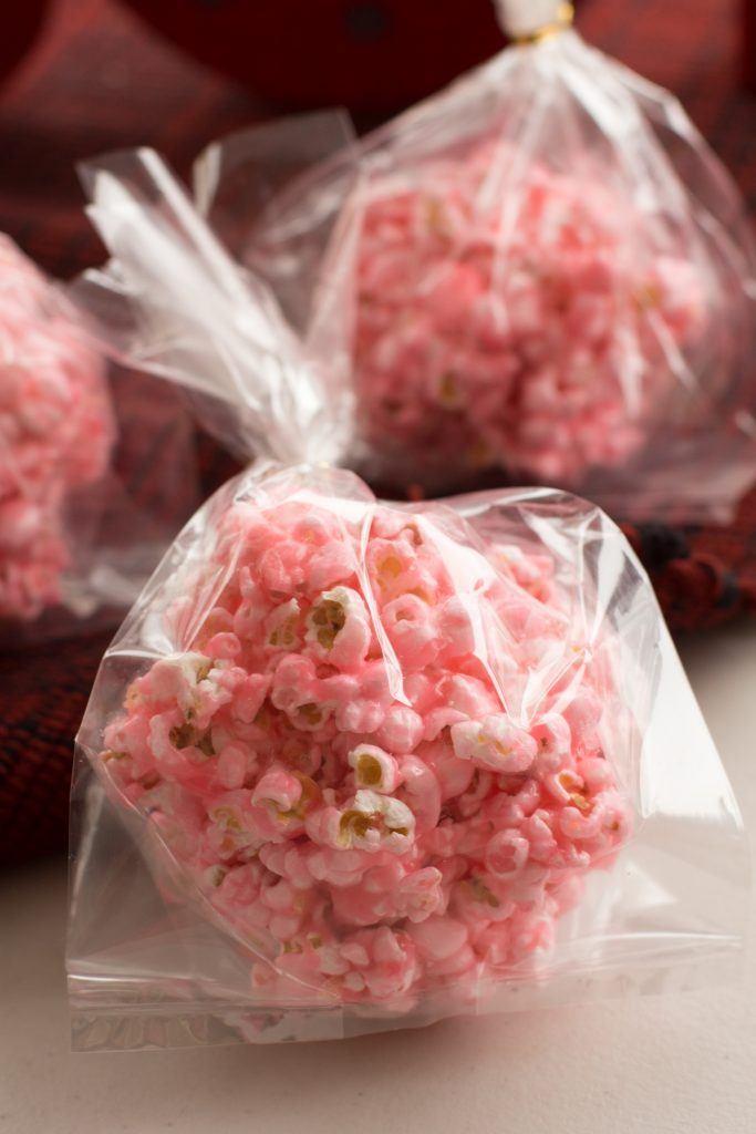 Gooey Christmas Popcorn Balls