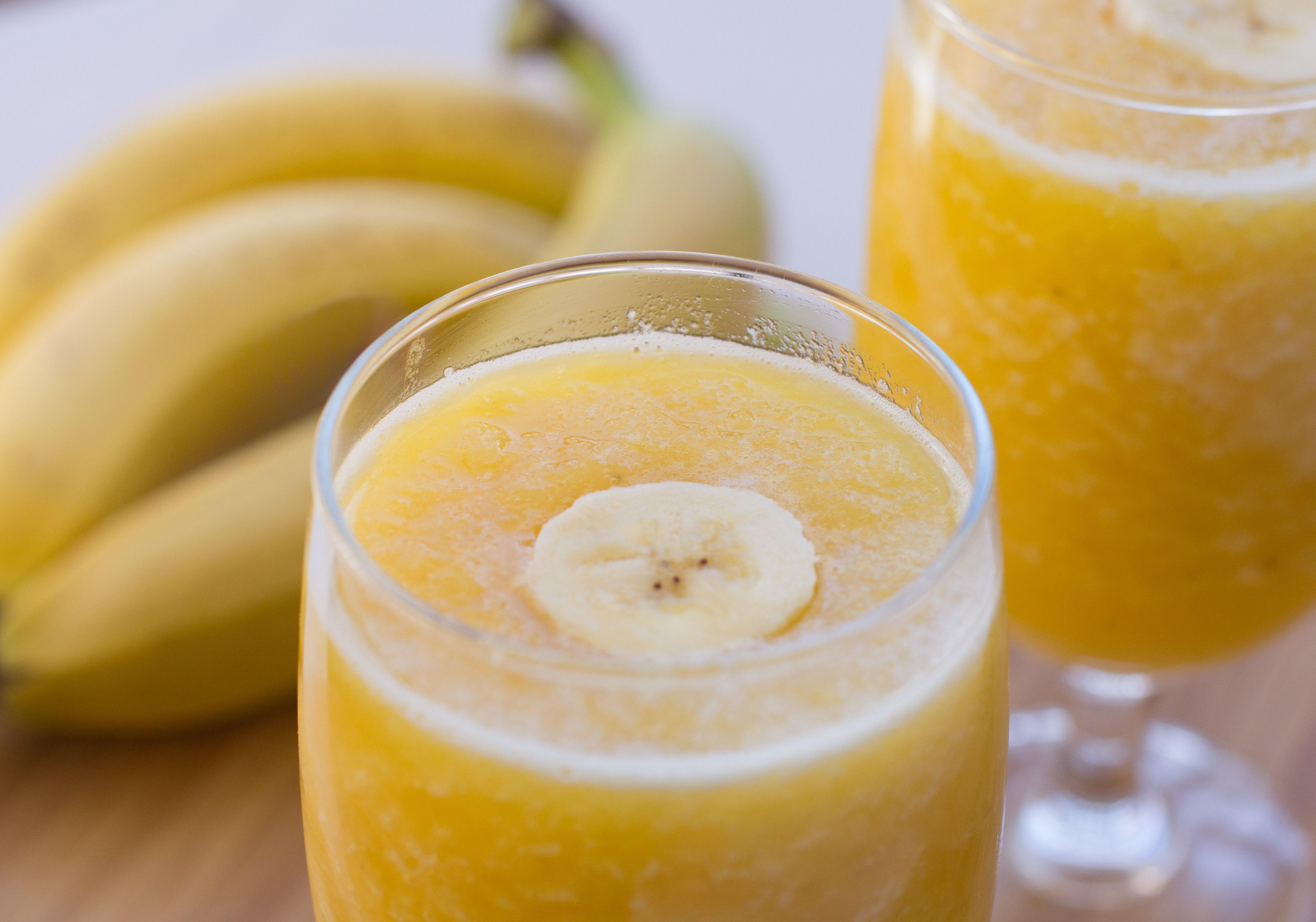 banana slush drink