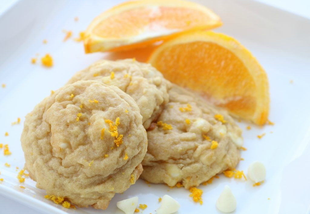 Orange Cream Cookies - Sugar n' Spice Gals