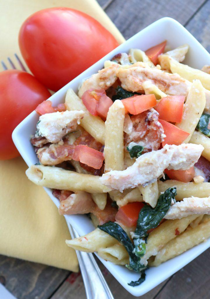 Chicken and Bacon Penne