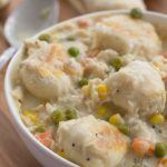 Slow Cooker Chicken and Biscuit Soup