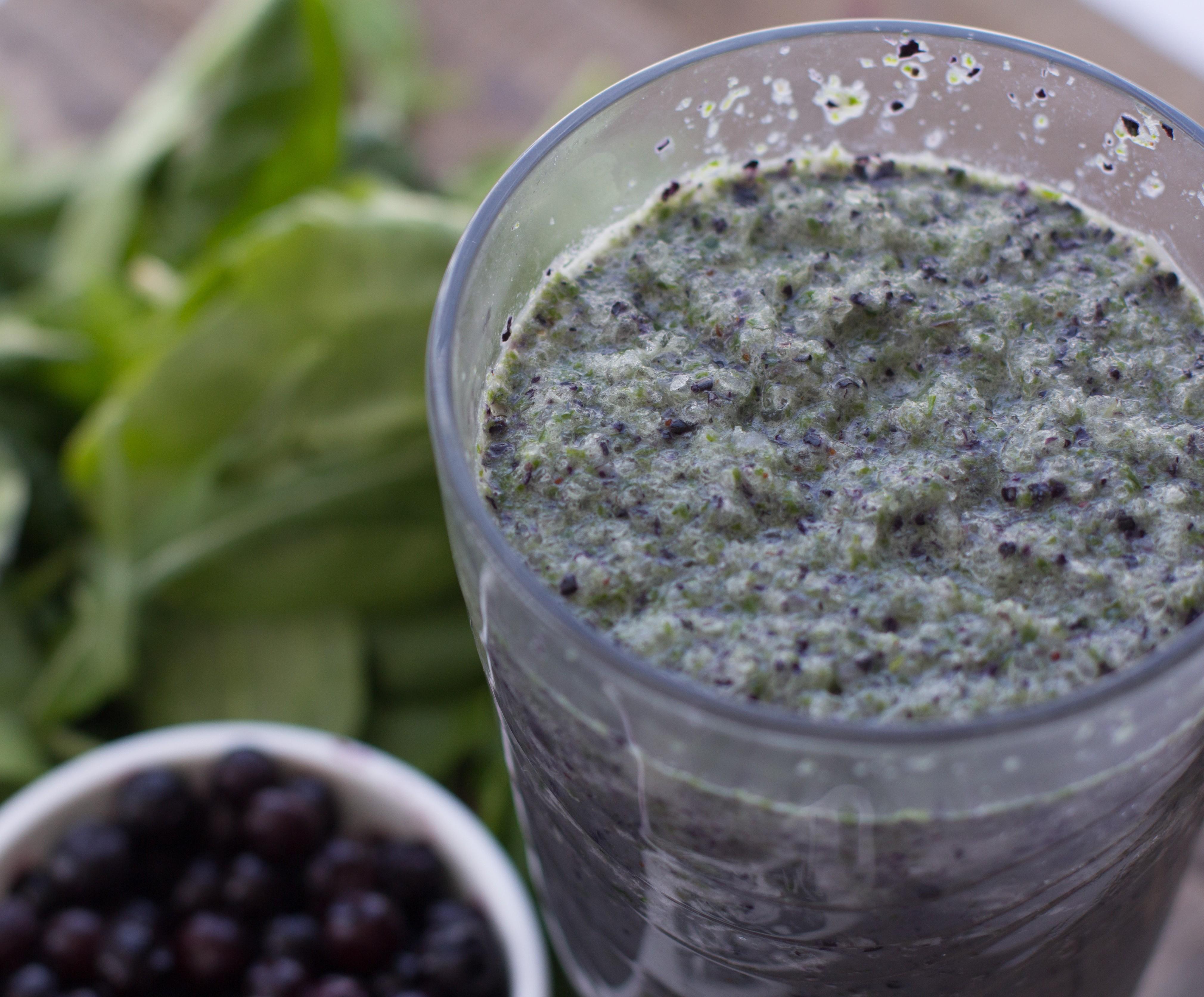 Blueberry Vanilla Protein Shake