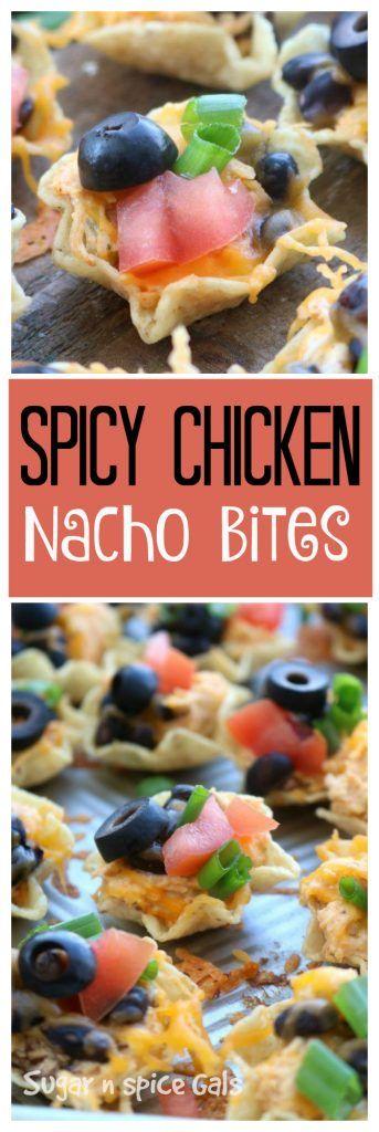 spicy chicken nacho bites recipe