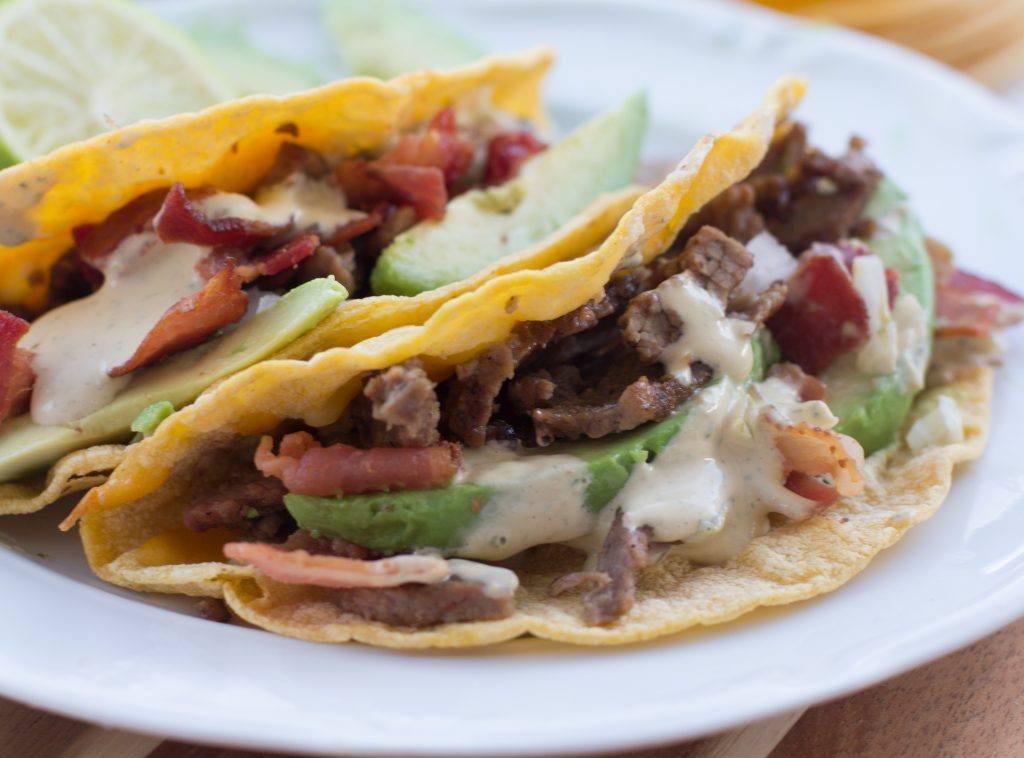Rubio's steak tacos