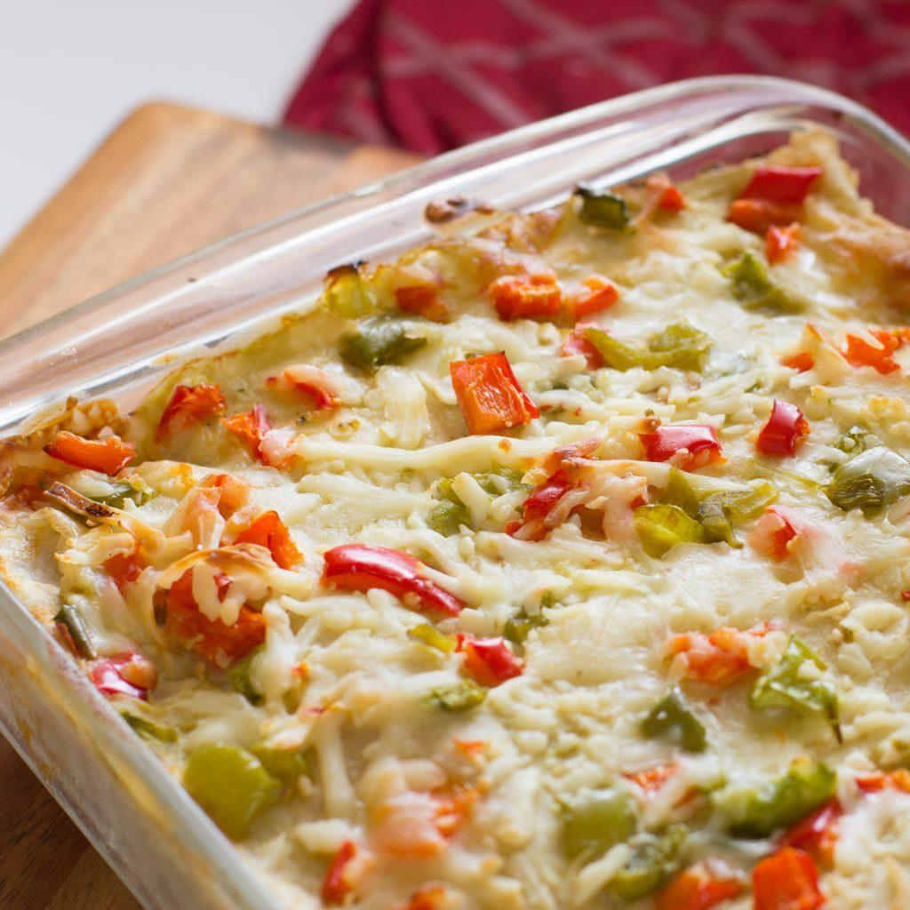 Smothered Green Chile Burritos